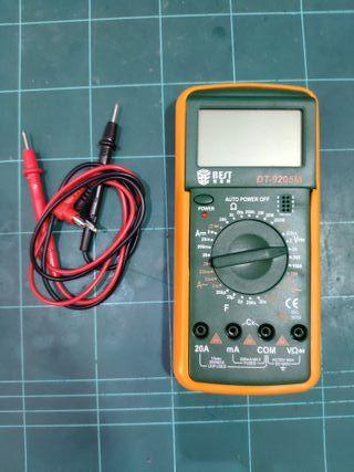 Multímetro BEST DT-9205M