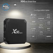 ANDROID TV X96 MINI 2GB 16GB TV BOX A ESTRENAR