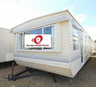 Preciosa mobile home 11x4 m 3 dormitorios