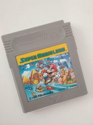 Super Mario Land videojuego Nintendo Game Boy