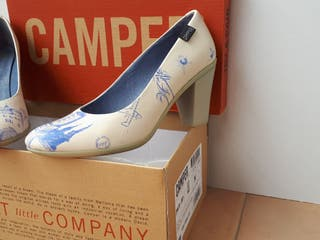 zapatos de tacón n°37