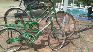 dos bicicletas una de paseo GAC y otra pequeña BH
