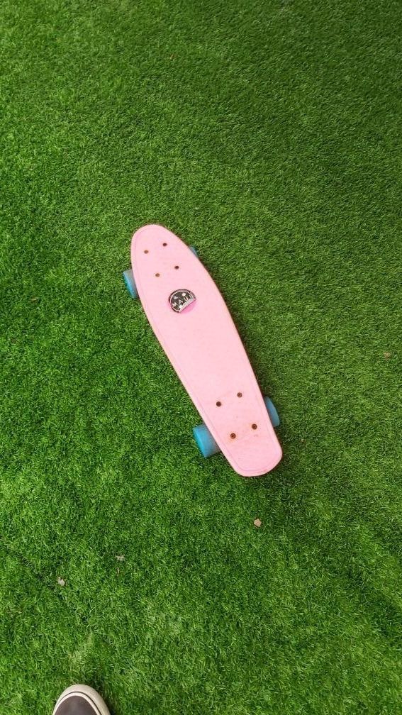 penny patinete skate rosa