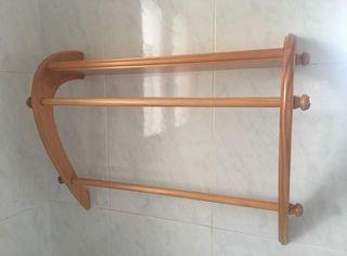 Estantería de baño de madera - Wood bathroom shelf