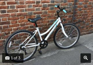 Bicycle and lock for sale in Canterbury