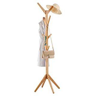 LANGRIA Perchero Bambú de Pie Tipo Árbol