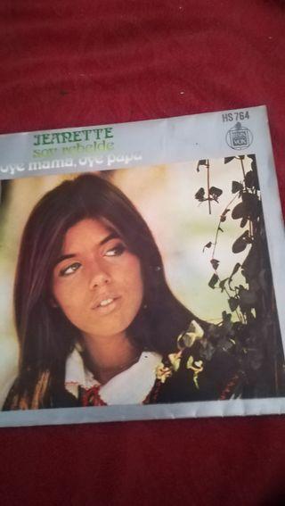 antiguo vinilo de Jeanette