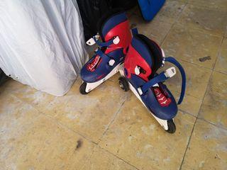 patines niño multiposición 32-34