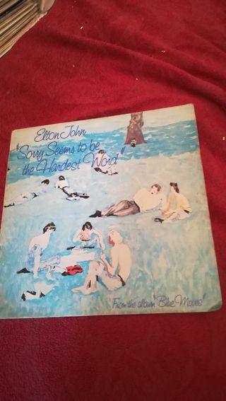 vinilo de Elton John