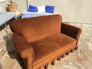 Sofá Antiguo Terciopelo