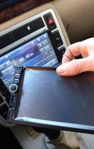radio pantalla tactil para coche
