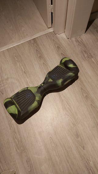 patinete electrico hoverboard con funda