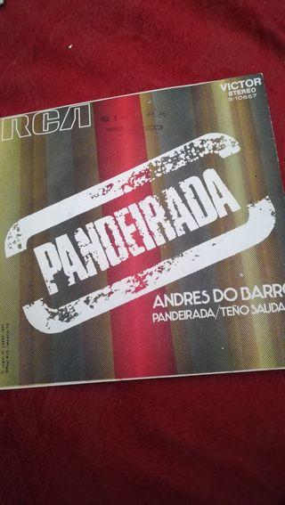 Antiguo vinilo de Andrés DoBarro