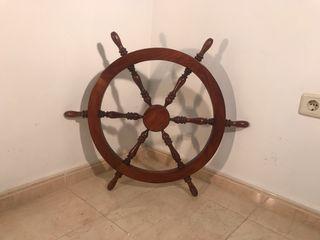 Timón de barco para decoración