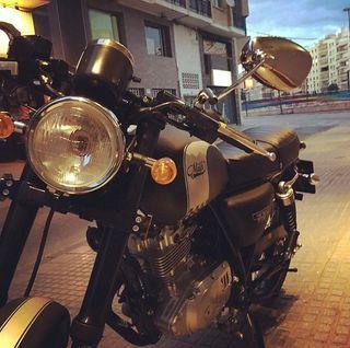 Moto Mash Café Racer Black Mate 125 CC (2017)