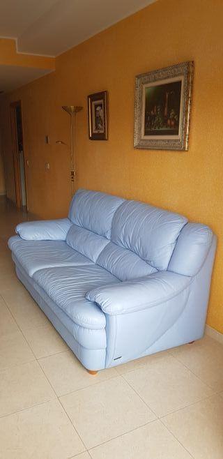 Sofá de piel Granfort (3 plazas)
