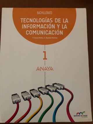Libro texto TIC 1 bachillerato Anaya