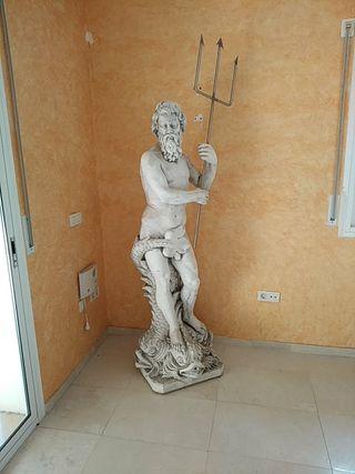 Estatua jardín Poseidón