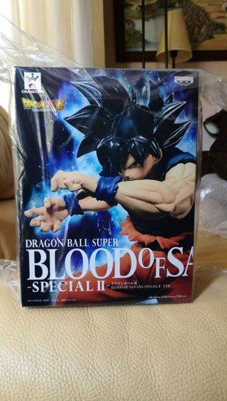 Goku Ultra Instinto Blood of Saiyans