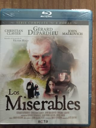 Los miserables. Blue Ray. Sin desprecintar