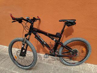 Bicicleta mtb doble. Negociable