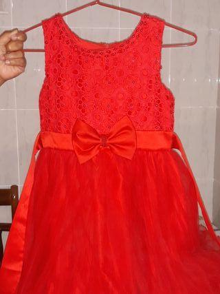 vendo vestido de fiesta de niña