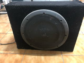 Subwoofer infinity coche
