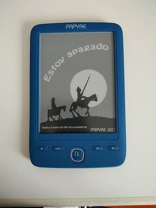 Ebook - libro electrónico PAPYRE 601