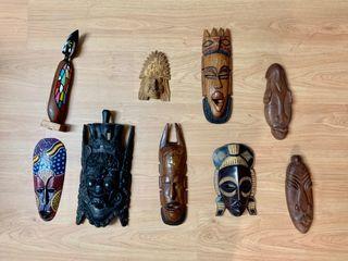 Mascaras recuerdos coleccionismo