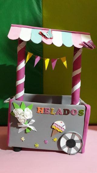 carro decoración candy bar