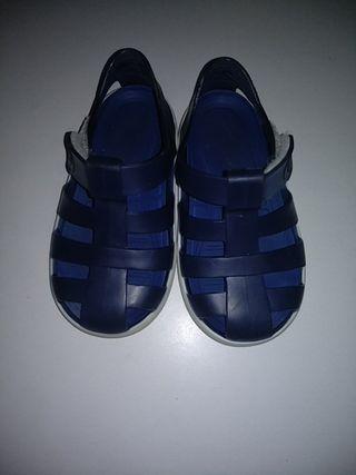 Sandalias puestas 2vezes