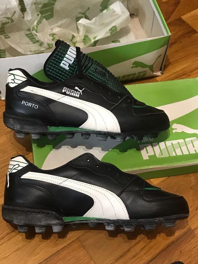 Antiguas botas fútbol puma Porto número 39