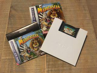 Juego GameBoy Advance - Madagascar