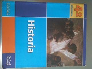 Libro de Historia 4 secundaria , Oxford Educacion.