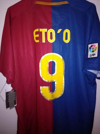 NIKE FC Barcelona 2008-2009 Eto'o 9