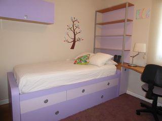 Dormitorio juvenil cama nido seminuevo