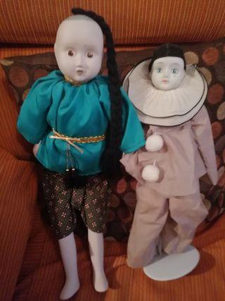 Muñecos de porcelana