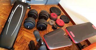 gimnasio más de 150 kg