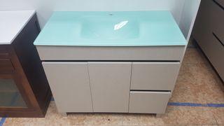 Mueble de baño 90x45 mod N021