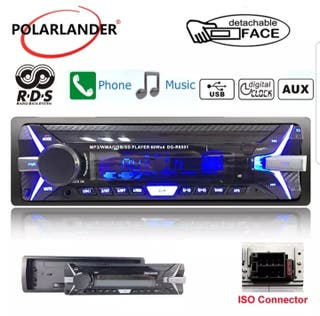 Radio Mp3 Autoinstalable. Bluetooth, USB, Mando