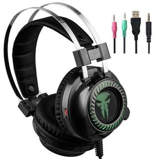 Auriculares Gaming con micrófono para PS4, PC...