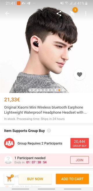 Xiaomi wireless hearphone auriculares inalambricos
