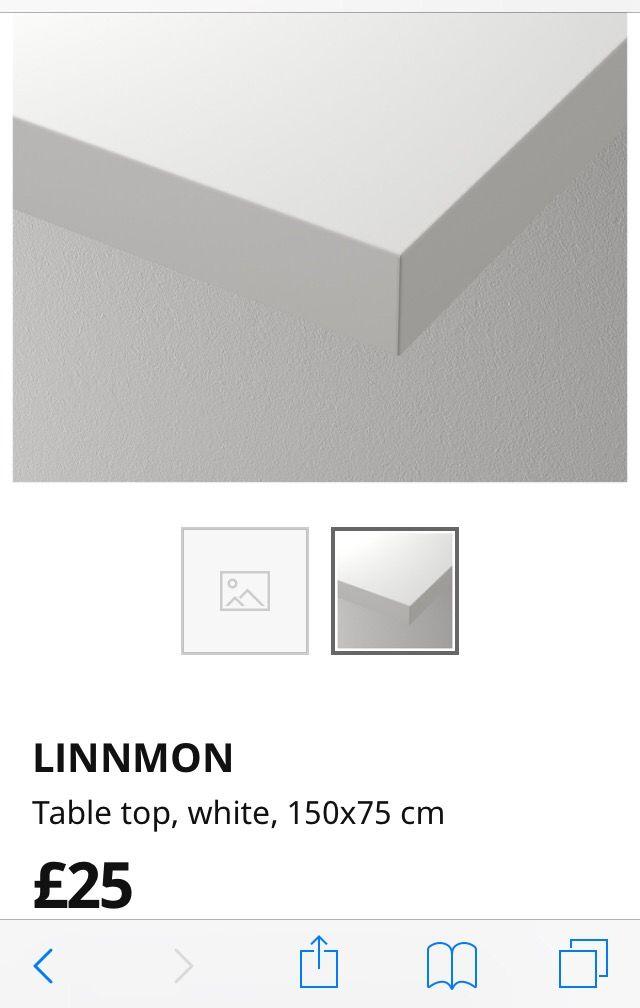 Table top linnmon