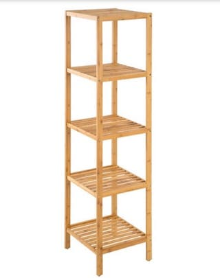 Estantería de bambú