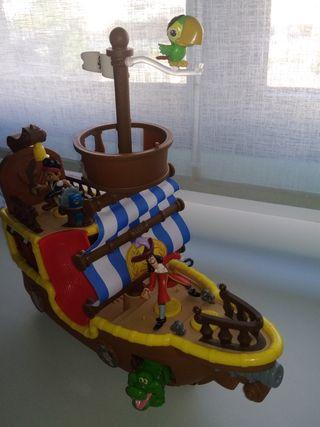 Barco Jake el pirata