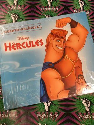 CUENTO+DVD HÉRCULES