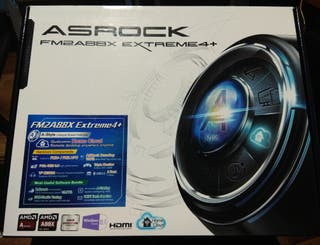 PLACA BASE AsRock Extreme4+ (+ Drivers)