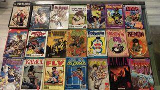 lote comics manga 60 aprox