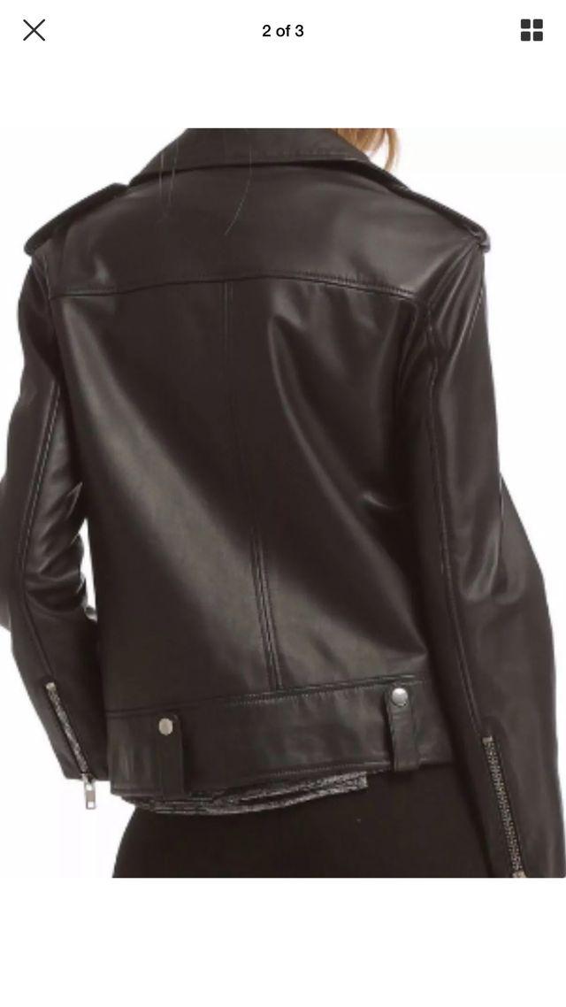 Leather Jacket Walter Baker Biker
