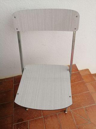 Cadires plegables antigues - Silla plegable